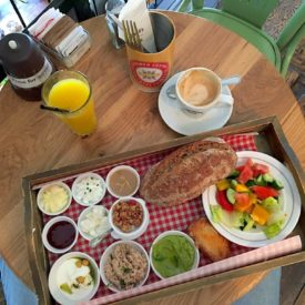 Landwer Cafe, a historic Israeli culinary must!