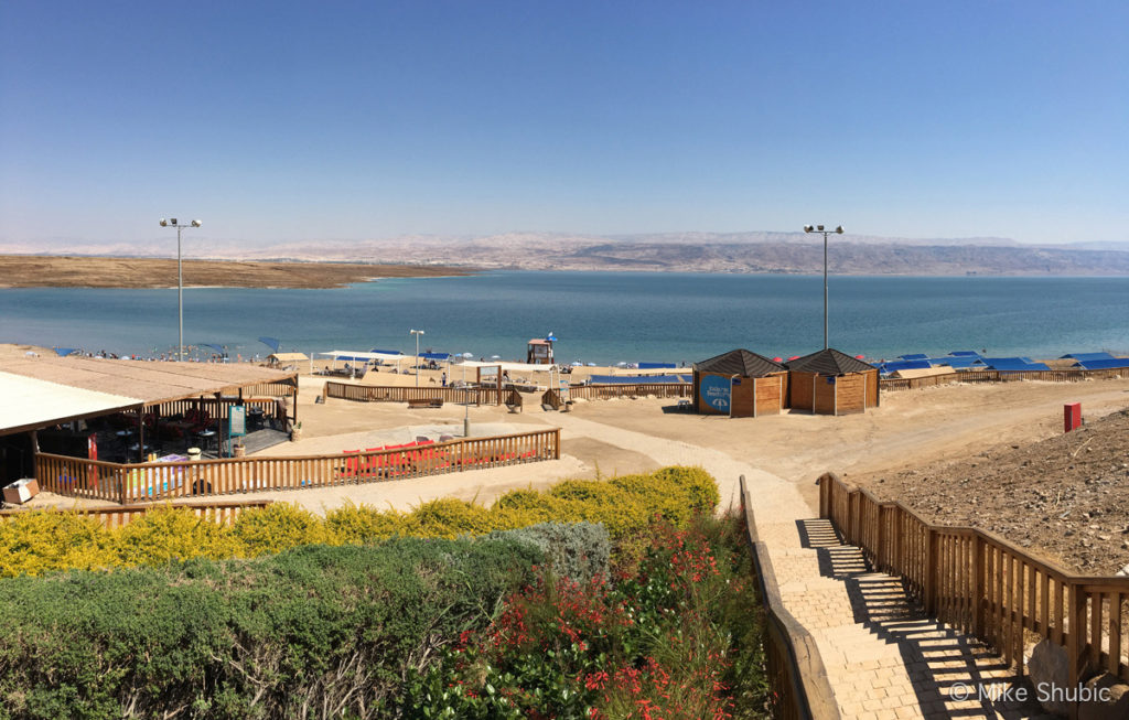 Dead Sea campground recreation area