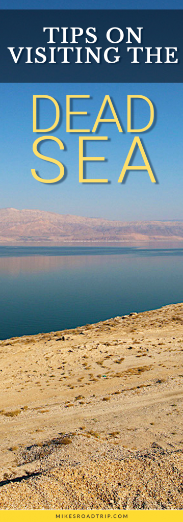 Tips on visiting the Dead Sea via MikesRoadTrip.com