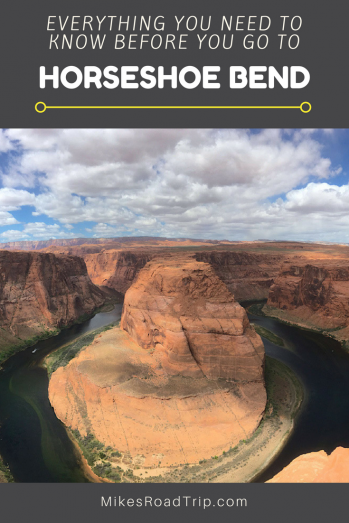 Horseshoe Bend infographic