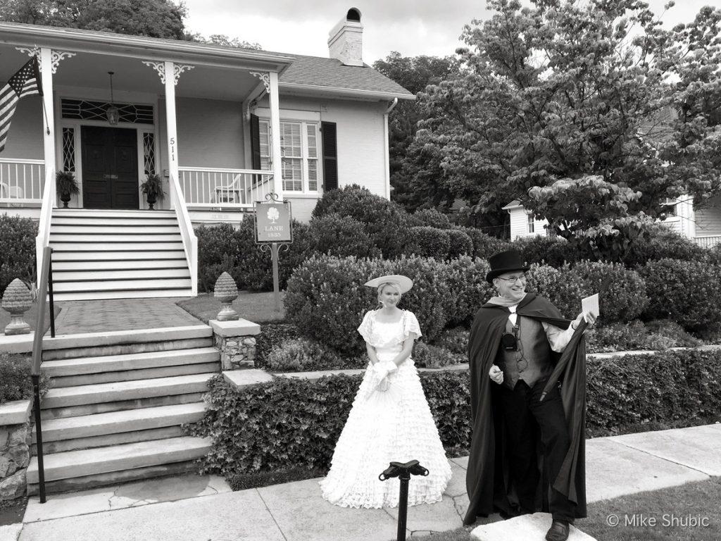 Historic walking tour in Huntsville AL by MikesRoadTrip.com