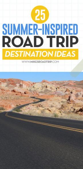 25 summer road trips ideas