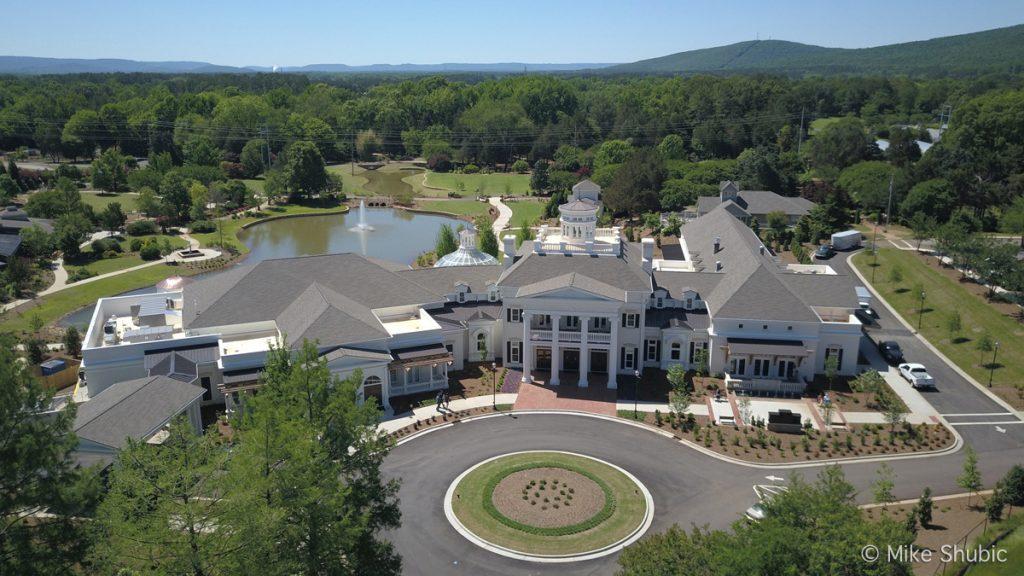 Huntsville Botantical Garden aerial photo by MikesRoadTrip.com