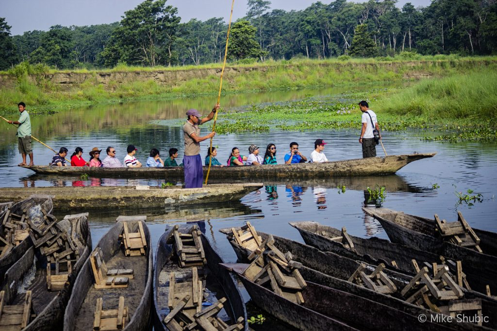 Canoe ride in Chitwan National Park by Mike of MikesRoadTrip.com