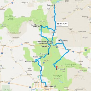 Upcoming road trip around Northern Arizona