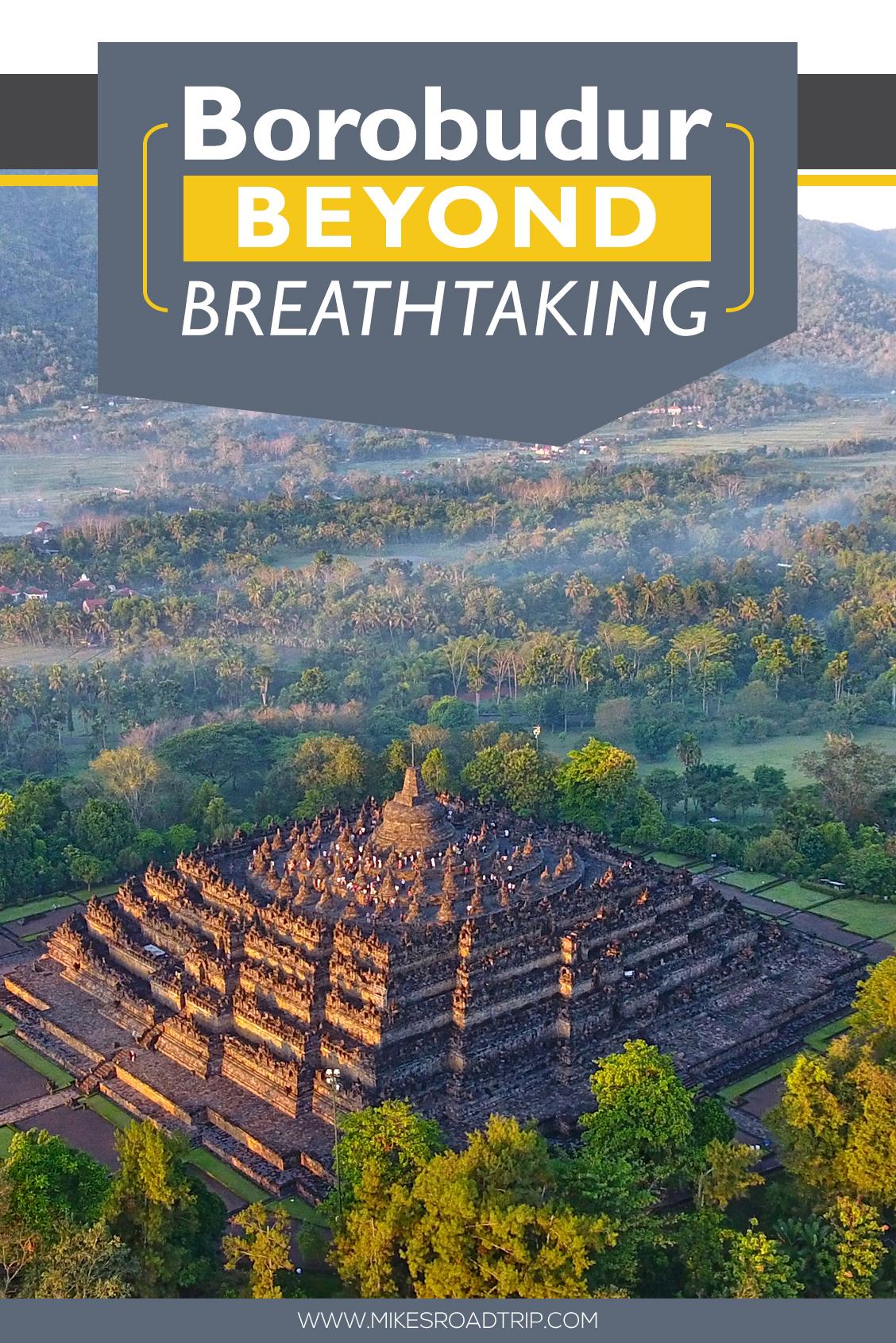Borobudur Pin by MikesRoadTrip.com