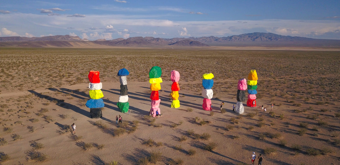 Seven Magic Mountains by MikesRoadTrip.com