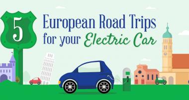 EV Road Trip through Europe [infographic]