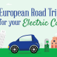 EV Road Trip through Europe [infographic]