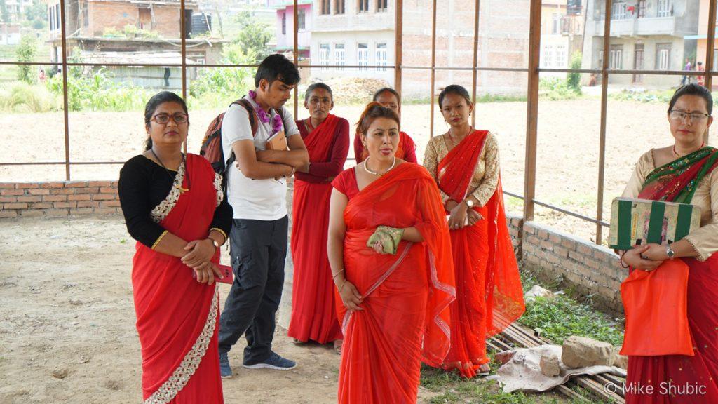 Panauti Homestay women - photo by Mike of MikesRoadTrip.com