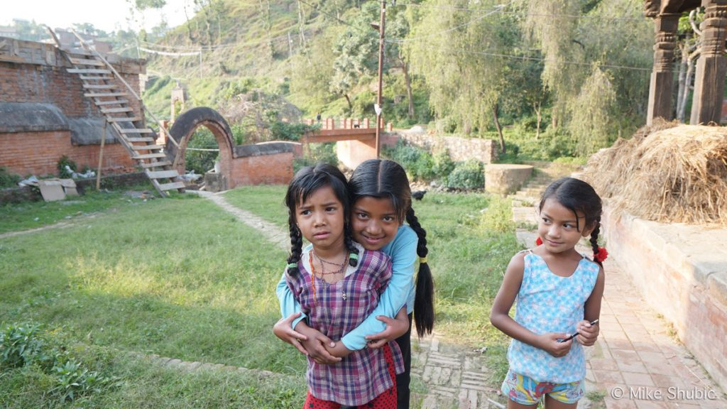 Kids in Panauti by MikesRoadTrip.com