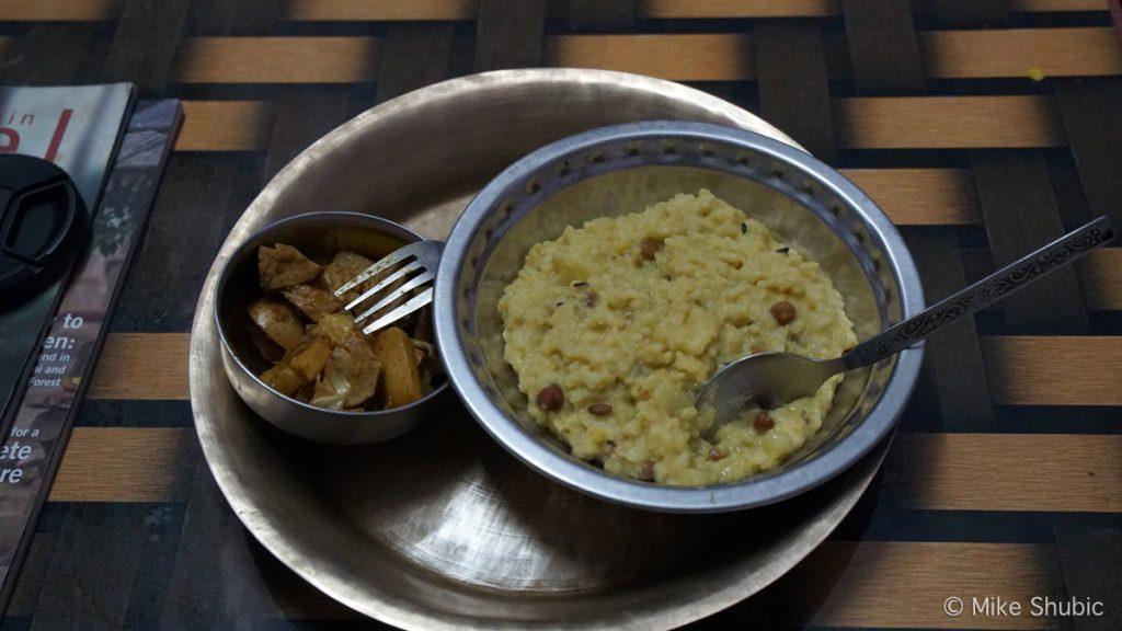 Panauti Homestay meal by MikesRoadTrip.com