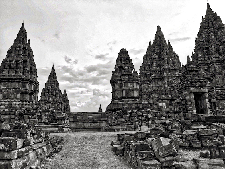 Prambanan Temple compound by MikesRoadTrip.com