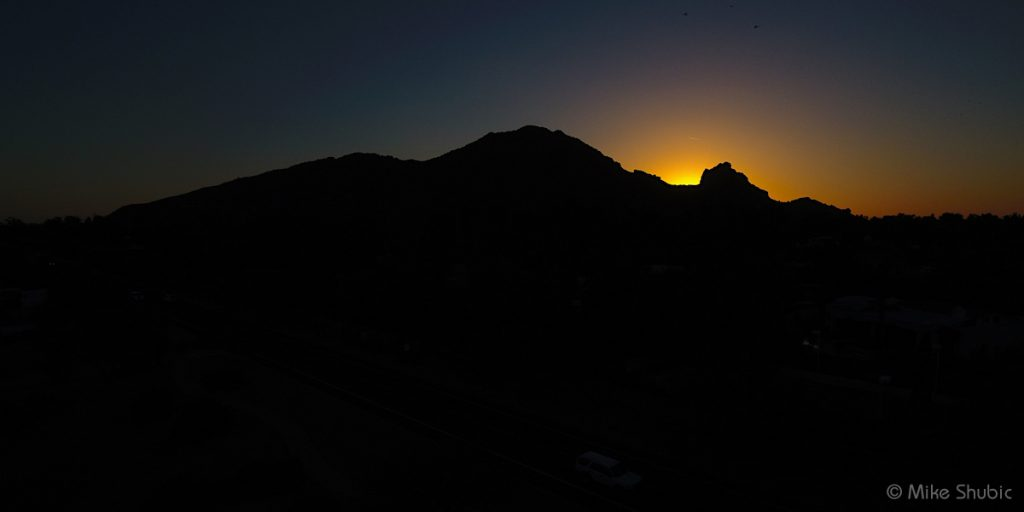 Camelback Mountain sunset by Mike Shubic of MikesRoadTrip.com