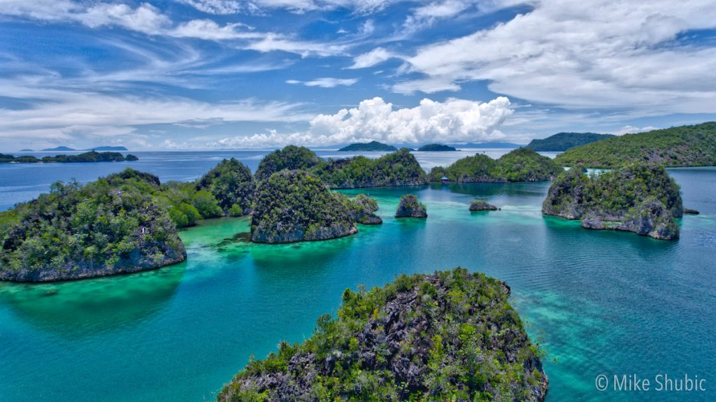 Raja Ampat in 30 seconds - copyright mike-shubic
