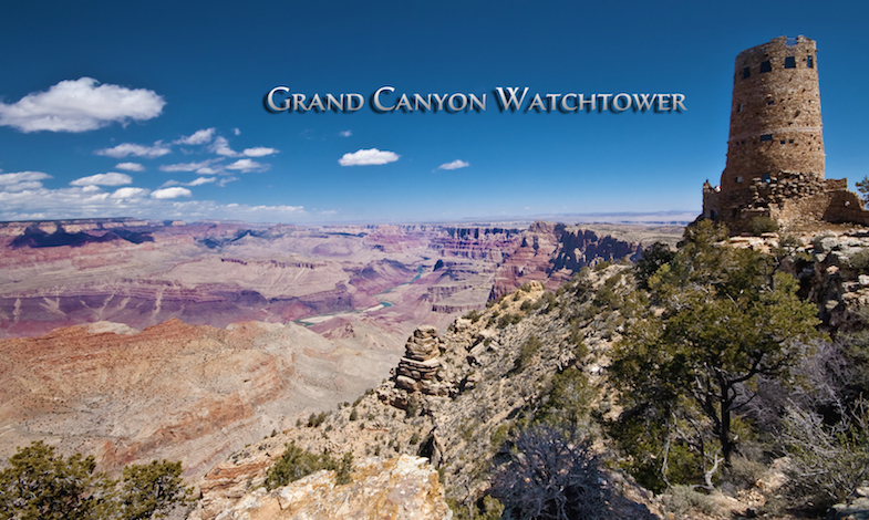 Grand Canyon road trip from Vegas to the Watchtower by MikesRoadTrip.com