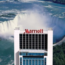 Great Views of Niagara Falls at Marriott on the Falls