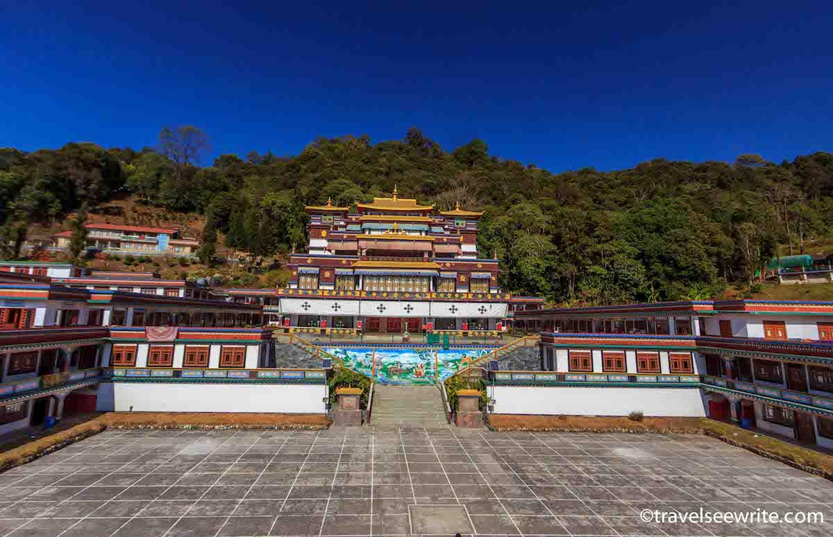 Monastary, Gangtok, East Sikkim, India