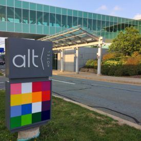 Alt Hotel at Halifax Airport is an alternative to the mundane