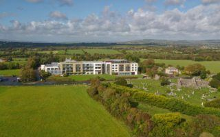 Aghadoe Heights hotel aerial by Mike Shubic