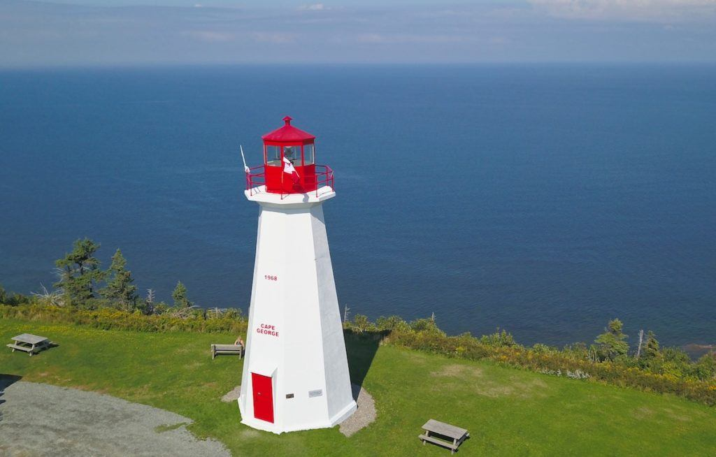 Maritime Canada Lighthouses - Cape George by Mike Shubic of MikesRoadTrip.com