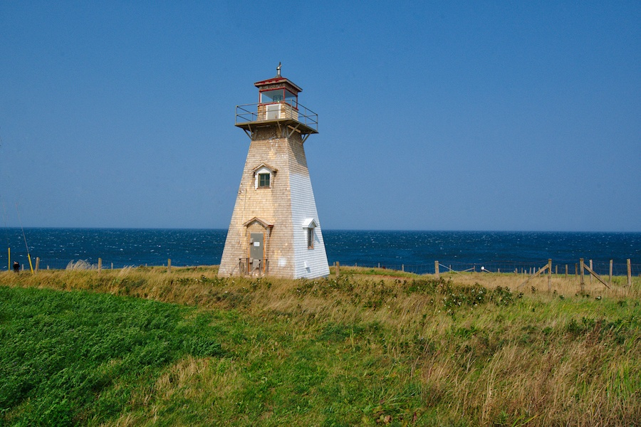 Maritime Canada Lighthouses - Cape Tyron Lighthouse by Mike Shubic of MikesRoadTrip.com