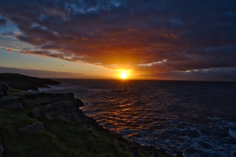 St. John's Point sunrise in Donegal Ireland by Mike Shubic of MikesRoadTrip.com