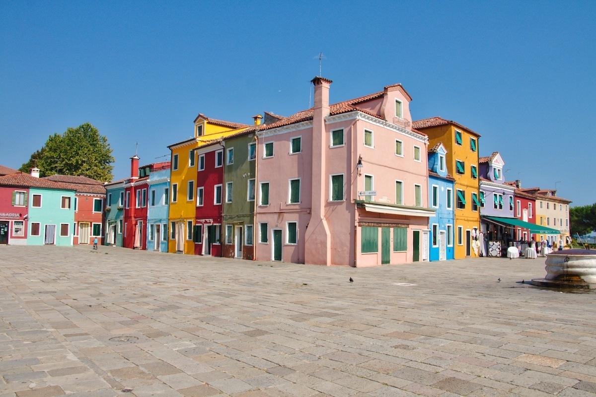 Burano Italy by MikesRoadTrip.com
