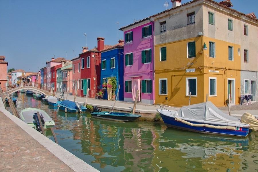 Burano Italy canal by MikesRoadTrip.com