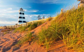PEI road trip to West Point Lighthouse. Photo supplied by: Tourism PEI - Photo by: Stclair Macaulay
