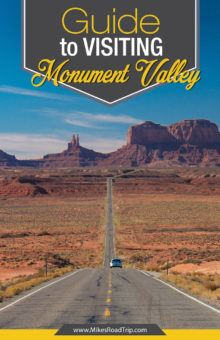 A guide to visiting Monument Valley by MikesRoadTrip.com