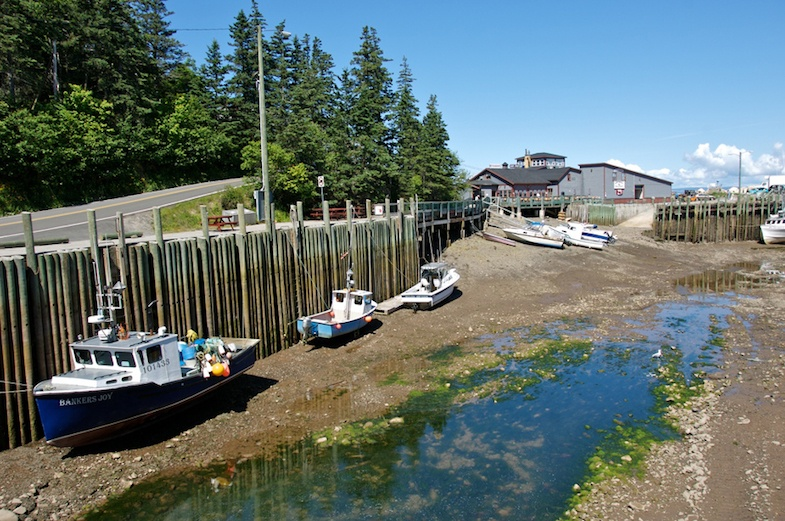 Hall's Harbour photo supplied by Nova Scotia Tourism