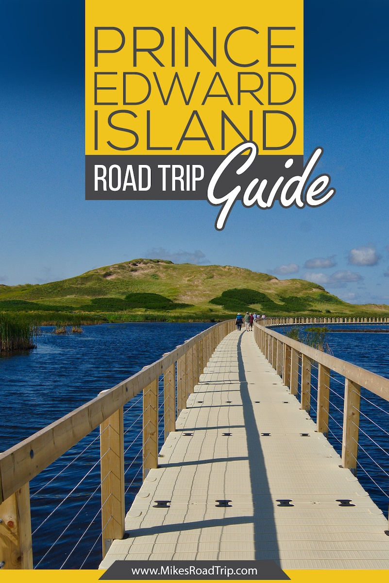 Prince Edward Island PEI Road Trip Guide by MikesRoadTrip.com