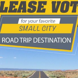 BEST small city road trip destination POLL