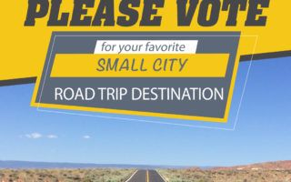 Vote for BEST small city road trip destination