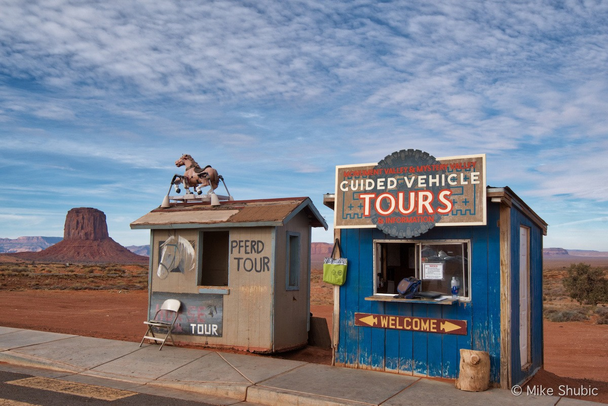 Tour Shacks at Monument Valley by MikesRoadTrip.com