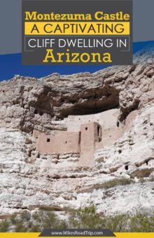 Montezuma Castle - A captivating cliff-dwelling in Arizona by MikesRoadTrip.com