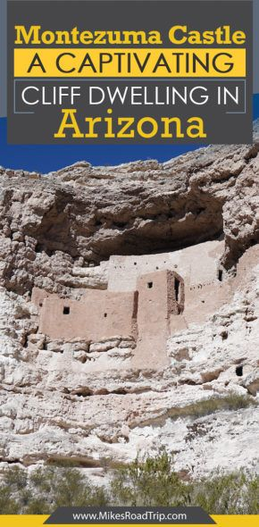 Montezuma Castle - A captivating cliff-dwelling in Arizona by MikesRoadTrip.com