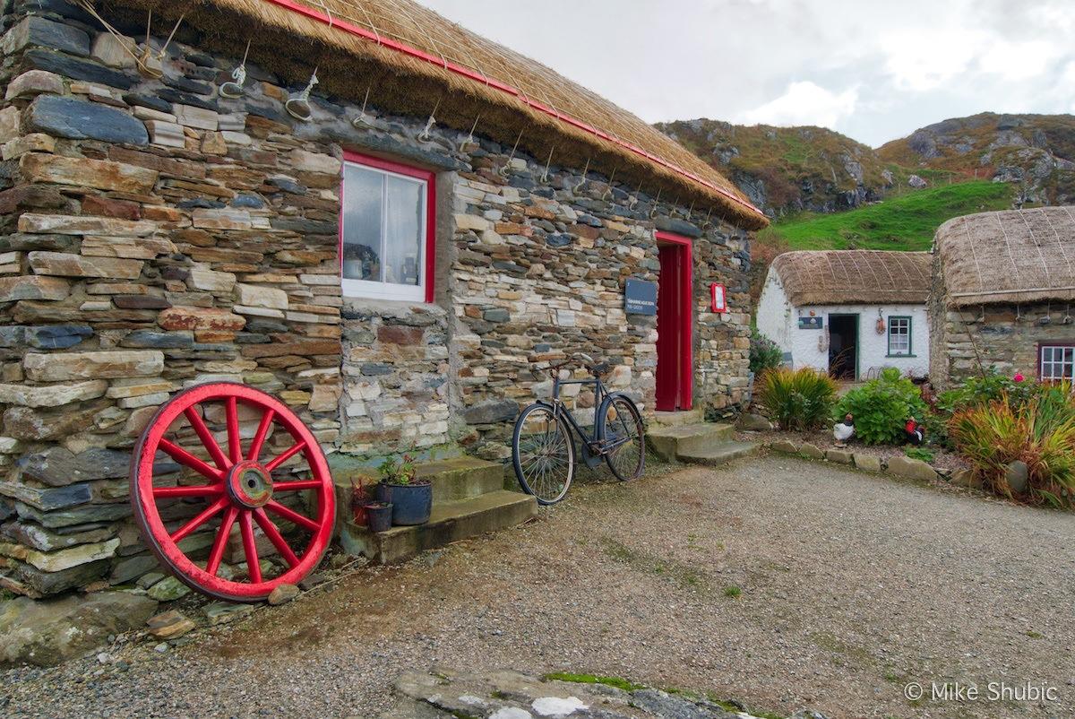 Glencolmcille Folk Village by MikesRoadTrip.com