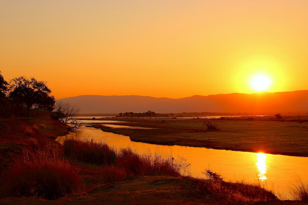 Zimbabwe Africa Sunset