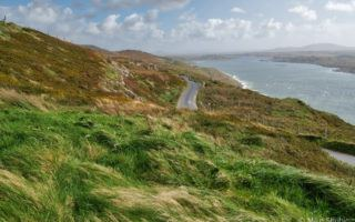 Wild Atlantic way road and sea by MikesRoadTrip.com