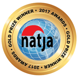 NATJA Gold winner for best travel video