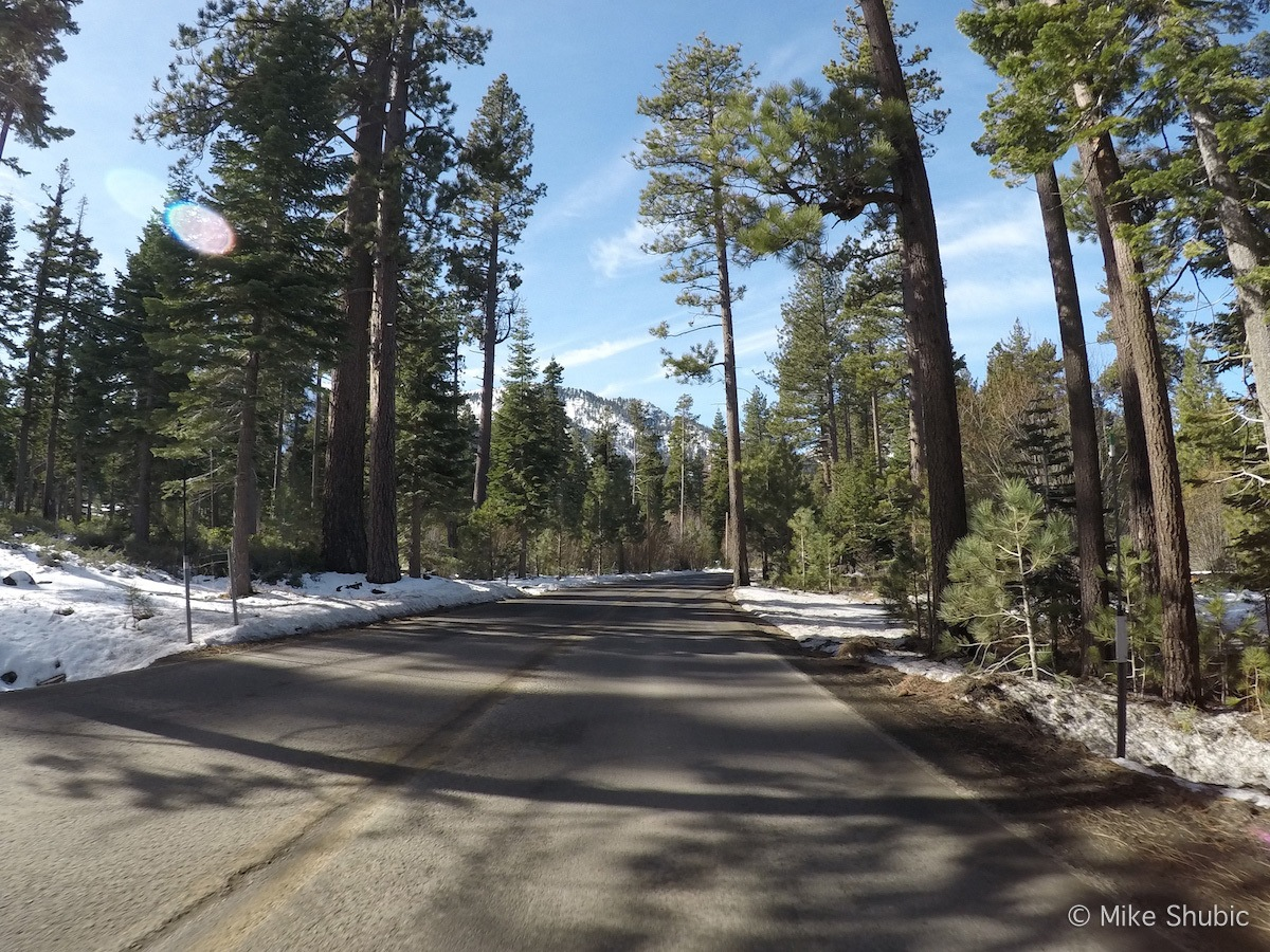 Road to Emerald Bay in South Lake Tahoe by MikesRoadTrip.com