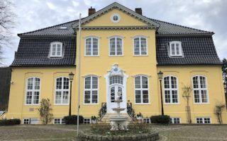 Lubecker Krinchen hotel in Lubeck exterior by MikesRoadTrip.com