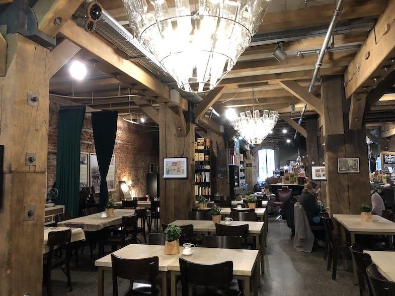 Kaffeemuseum Burg coffee shop in Hamburg Germany by MikesRoadTrip.com