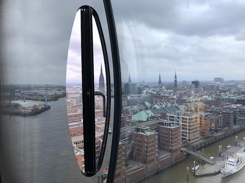 Westin Hamburg Portal window by MikesRoadTrip.com