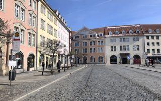 Brunswick Germany cobblestone street by MikesRoadTrip.com