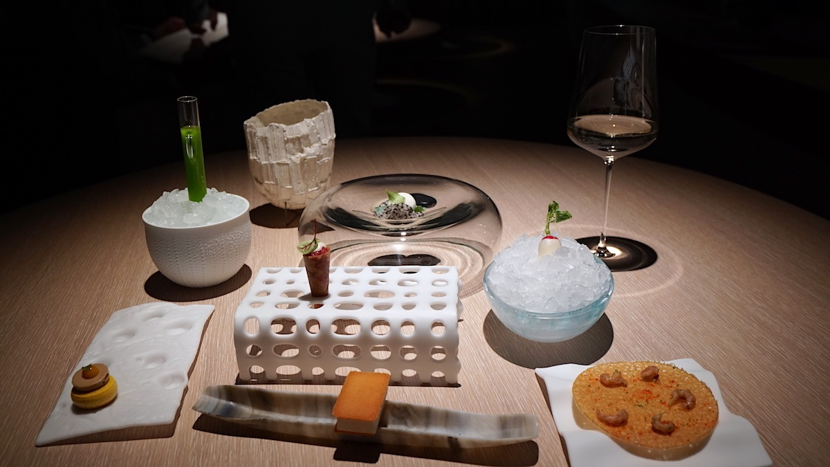 Amuche Bouche at Bianc Restaurant in Hamburg by MikesRoadTrip.com