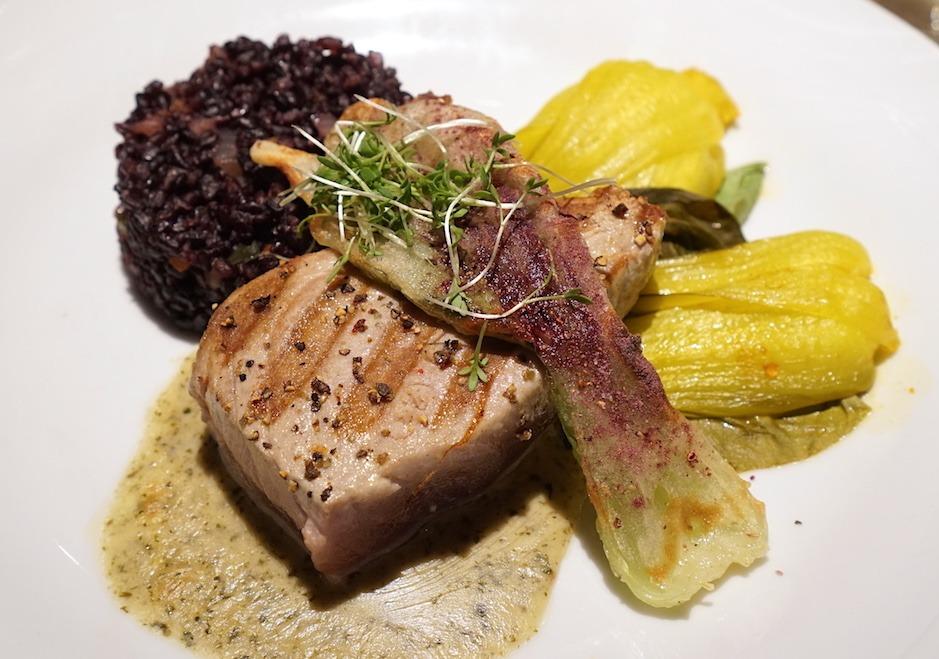 a dish at Natusch Fischerihafen Restaurant in Bremerhaven by MikesRoadTrip.com