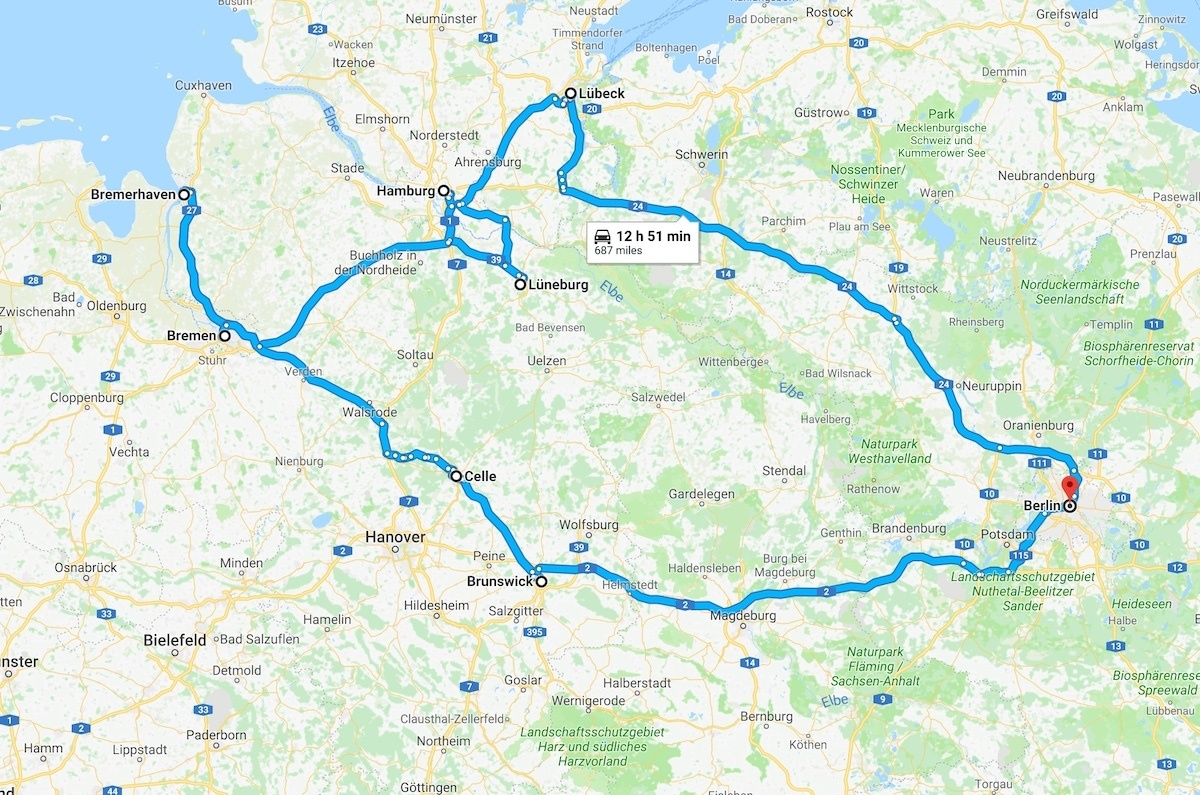 Northern Germany Road Trip Foodie Guide by MikesRoadTripcom